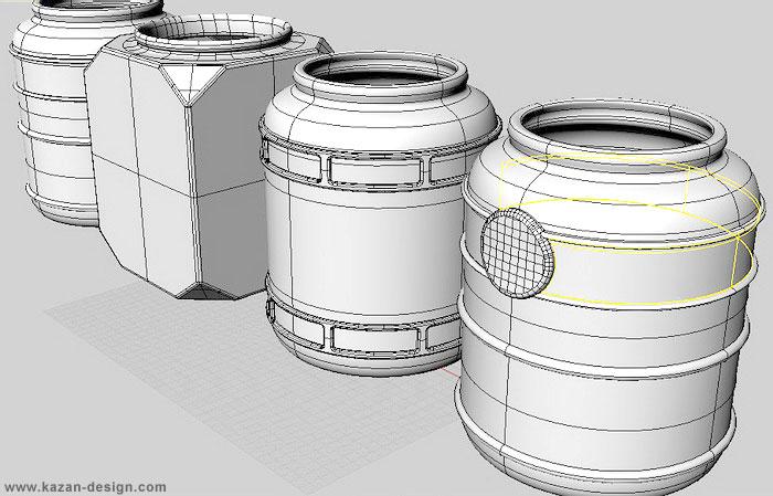 Дизайн моделирование стеклянных